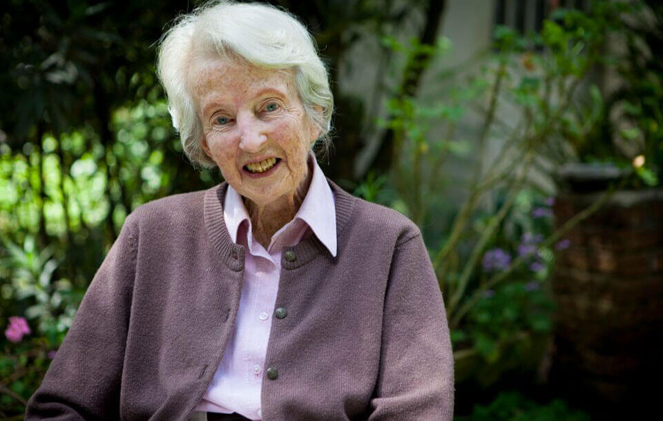 This is a picture of our founder: Dr. Catherine Hamlin.Catherine Hamlin Fistula Foundation