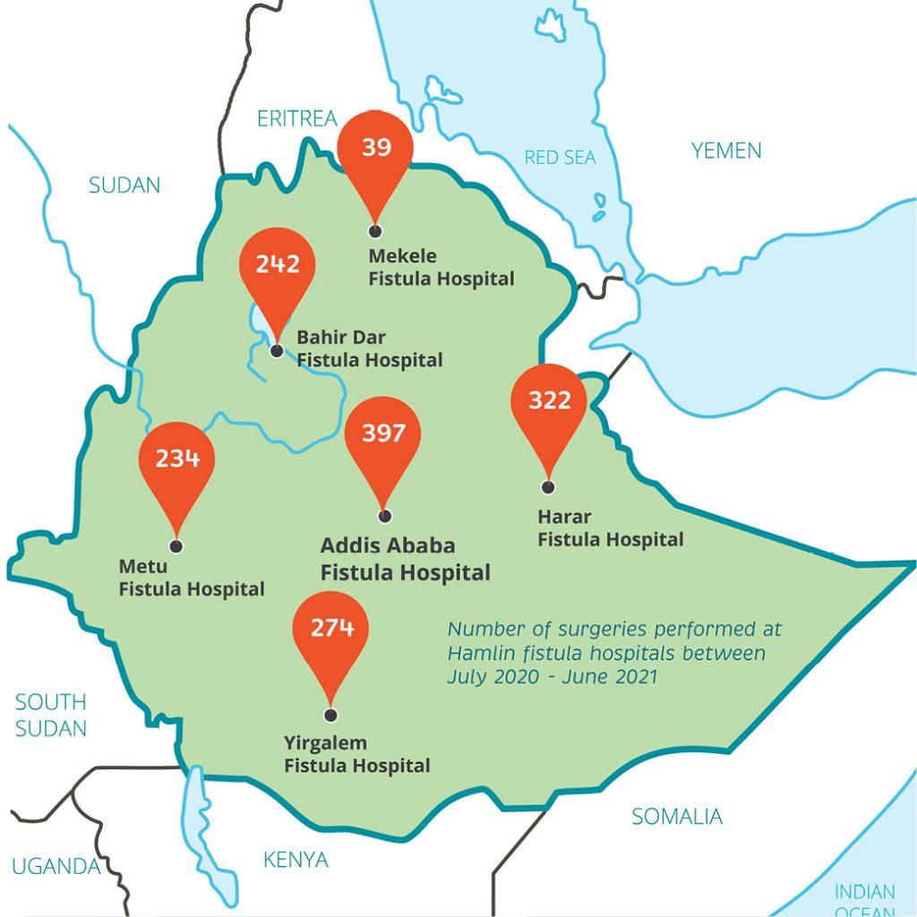Map HIR | Catherine Hamlin Fistula Foundation (USA) | Working to eradicate obstetric fistula. Forever.